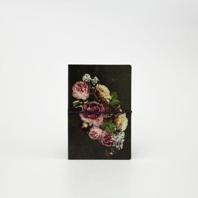 Блокнот LTD M Flowers romance в линейку