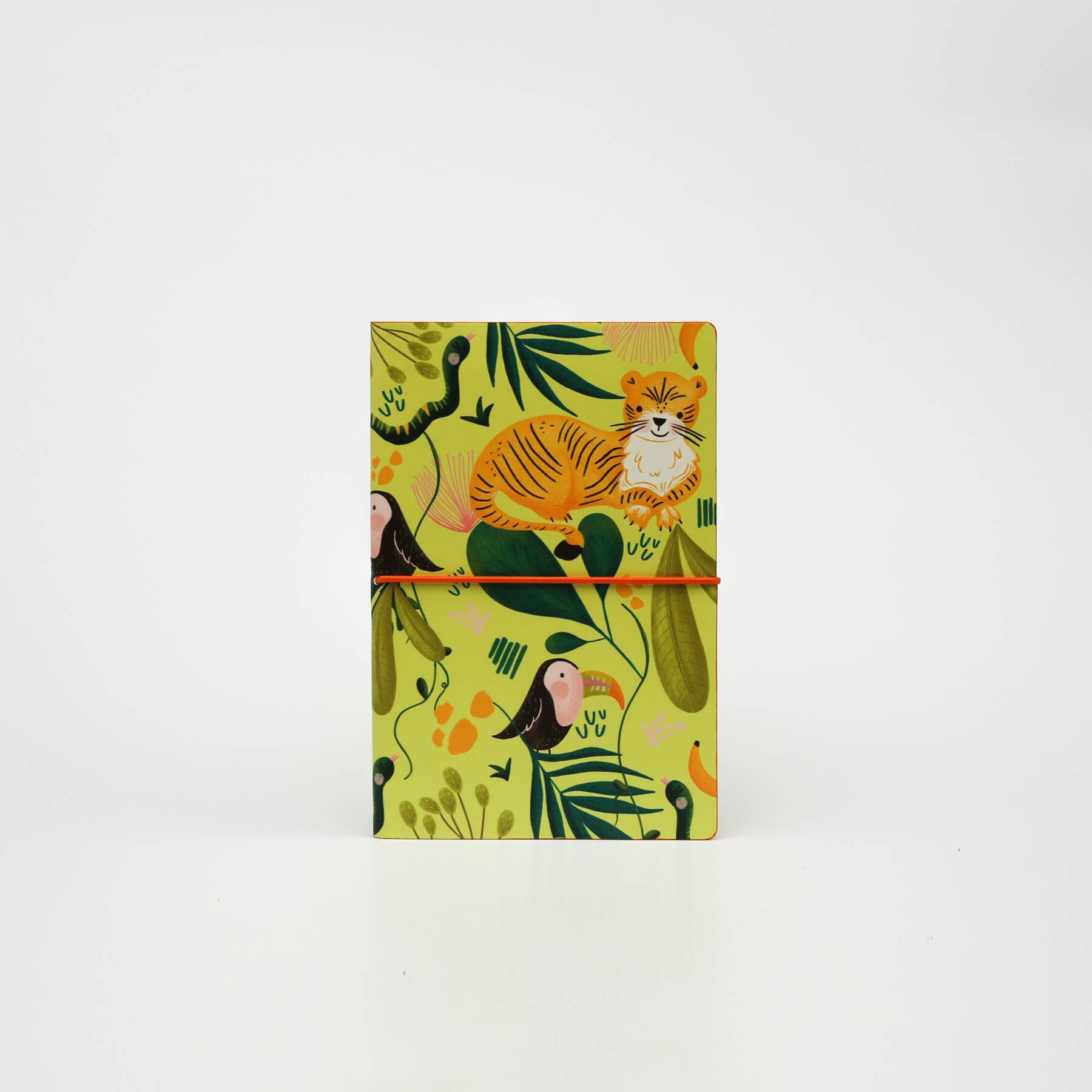 Записник LTD M Jungle у лінійку